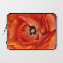 Orange Buttercup Abstract Laptop Sleeve