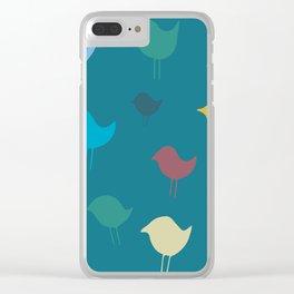 Spring Dawn Clear iPhone Case