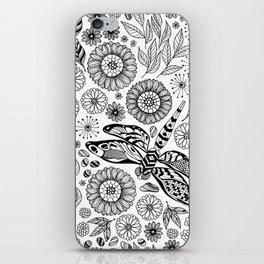 Dragonfly garden iPhone Skin