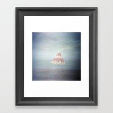 Summer ending Framed Art Print