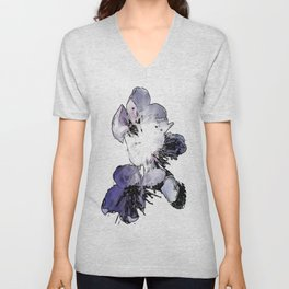 CHERRY BLOSSOMS. Unisex V-Neck