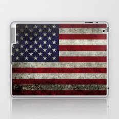USA flag with Grungy textures Laptop & iPad Skin