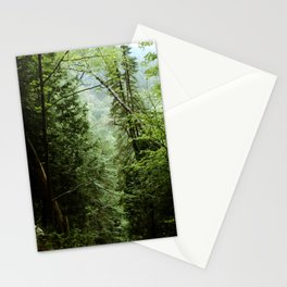Deep Green Forest Stationery Cards