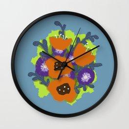 Bouquet #2 Wall Clock