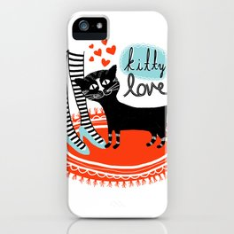 Kitty Love iPhone Case