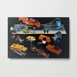 1970 Hot Wheels Redline Club Collector's Edition Catalog Poster Metal Print