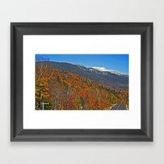 Mount Washington Framed Art Print