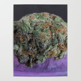 Grape Ape Medicinal Medical Marijuana Poster