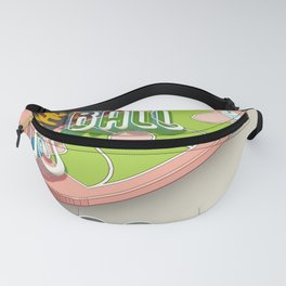 ball is life basketball design Fanny Pack