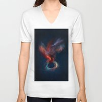 spirit V-neck T-shirts featuring Spirit by jbjart