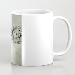 Snow time. Vintage Coffee Mug
