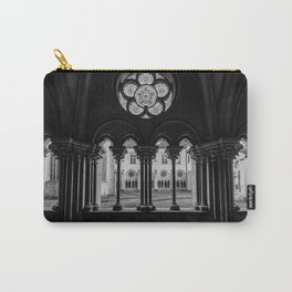 Monastery #1 Black & White Carry-All Pouch