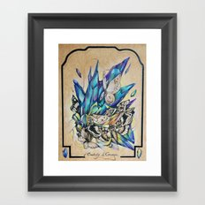 Creativity Is Courage Framed Art Print
