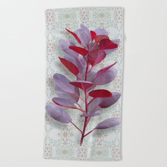 Royal Purple Beach Towel