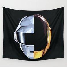 Daft Punk Polygon Wall Tapestry