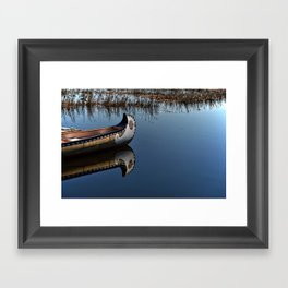 The Way of the Canoe Framed Art Print