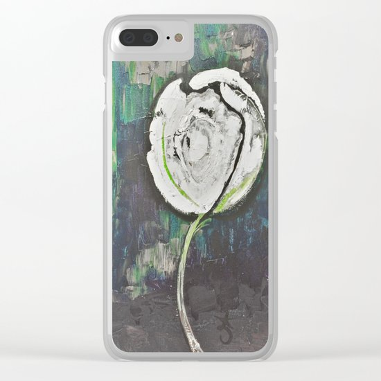 Golden Rose Acrylic Icey Green Mint Chocolate Chip Clear iPhone Case