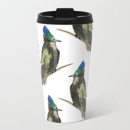 Antillean Crested Hummingbird Travel Mug