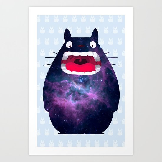 My Neighbor Cosmos Art Print