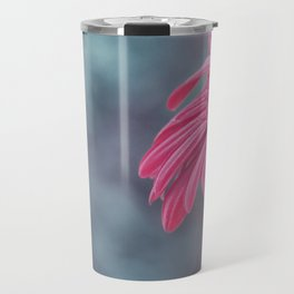 Macro photo of Gerbera flower 6 Travel Mug