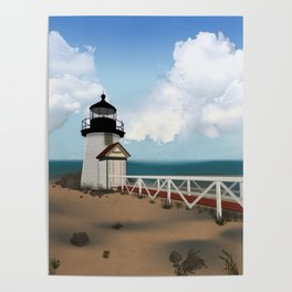 Brant Point Light Poster
