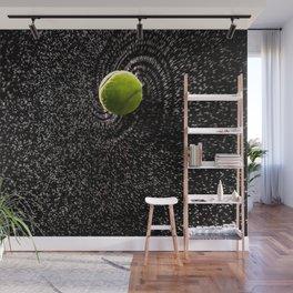 Spin Serve     Tennis Ball Wall Mural