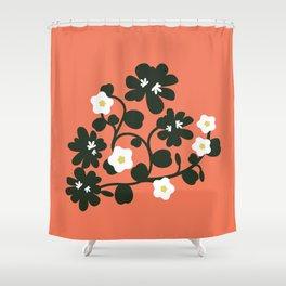 Hawaiian Flowers Shower Curtain
