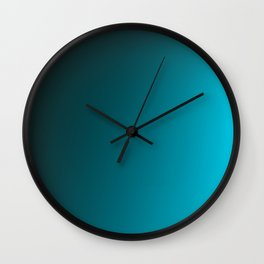 COLD / Plain Soft Mood Color Blends / iPhone Case Wall Clock