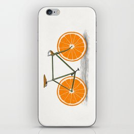 Zest (Orange Wheels) iPhone Skin