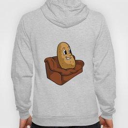 Couch Potato Funny Potato Television Sofa Cool Hoody