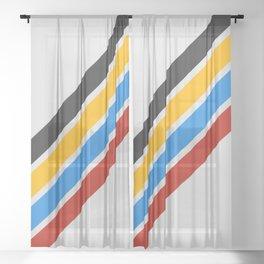 Retro 1994 Sheer Curtain
