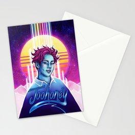 Joohoney Synthwave Stationery Cards