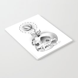 Skull Flower Notebook