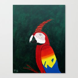 Parrot Evolution Canvas Print