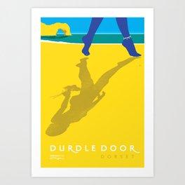 Durdle Door Art Print