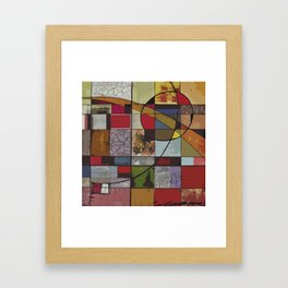 Circle of Colors Framed Art Print