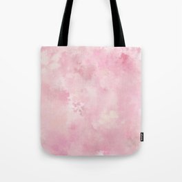 Pink rose fuscia batic look Tote Bag