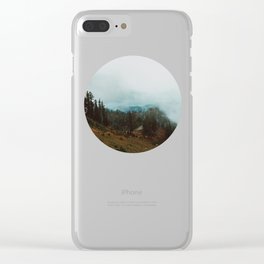 Park Butte Lookout - Washington State Clear iPhone Case