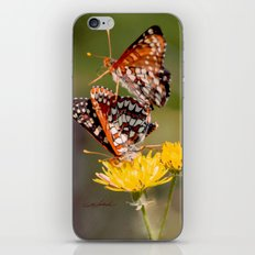 Butterfly Acrobats iPhone & iPod Skin