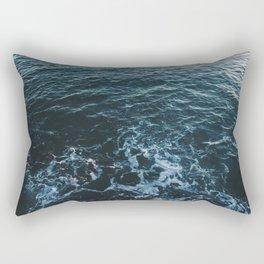 Dark #Sea Rectangular Pillow