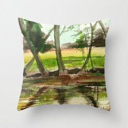Sternberg Pond Throw Pillow