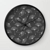 dandelion Wall Clocks featuring Dandelion by Rceeh
