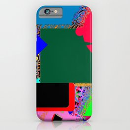 The man at the piano iPhone Case