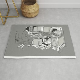 COMPUTER OFFICE WORKER Rug