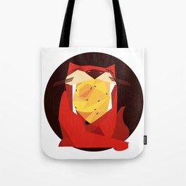 cat&birds Tote Bag