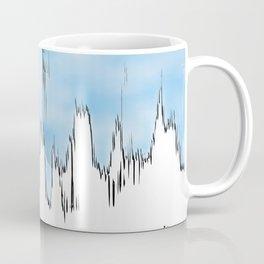 melting sky Coffee Mug