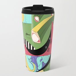 Cat on Tree Travel Mug