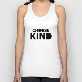 Choose Kind anti bullying message hipster t-shirts Unisex Tank Top