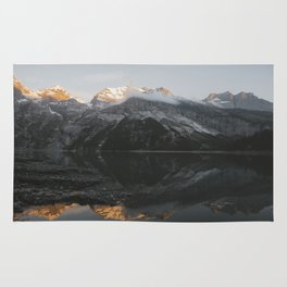 Mirror Mountains - Landscape Photography Rug