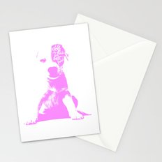 A mans best friend Stationery Cards